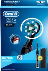 Oral B PRO2 2500 CROSS ACTION - Cepillo dental eléctrico Black Edition