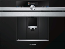 Siemens CT636LES6 - Cafetera Integrable 2 Tazas Home Connect Negro